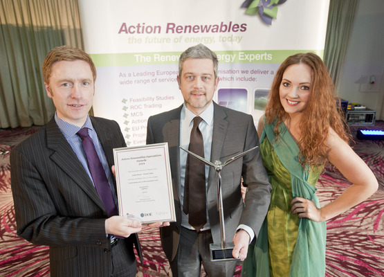 Image full andy baird receiving outstanding award