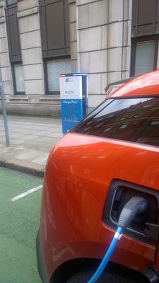 Image full electric car
