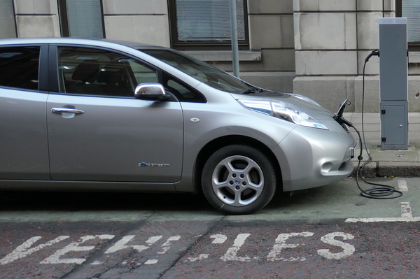 Image full electric car reduced